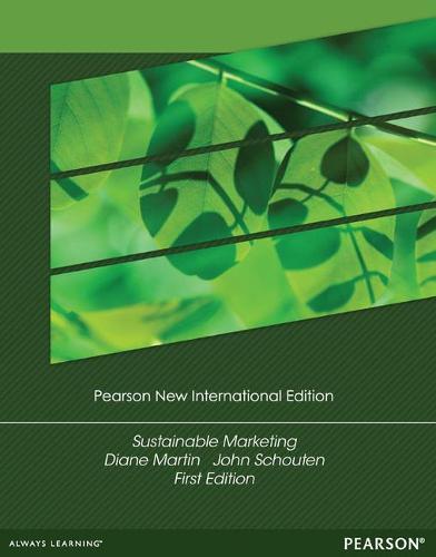 Sustainable Marketing: Pearson New International Edition (Paperback)