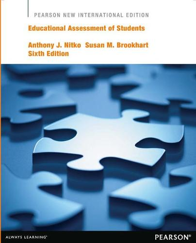Educational Assessment of Students: Pearson New International Edition (Paperback)