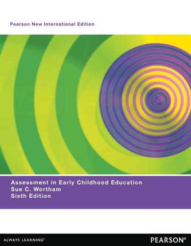 Assessment in Early Childhood Education: Pearson New International Edition (Paperback)