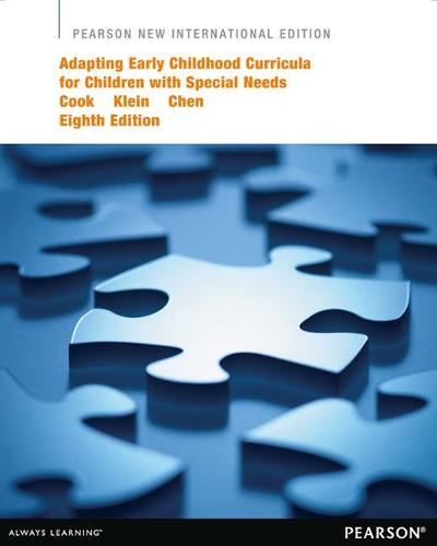 Adapting Early Childhood Curricula for Children with Special Needs: Pearson New International Edition (Paperback)