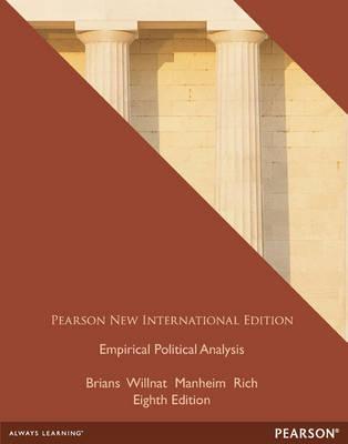 Empirical Political Analysis: International Edition (Paperback)