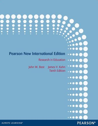 Research in Education: Pearson New International Edition (Paperback)