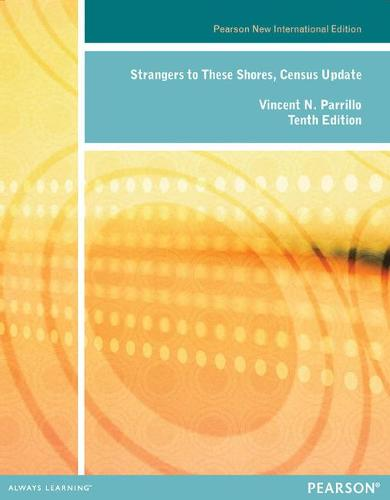 Strangers to these Shores, Census Update (Paperback)