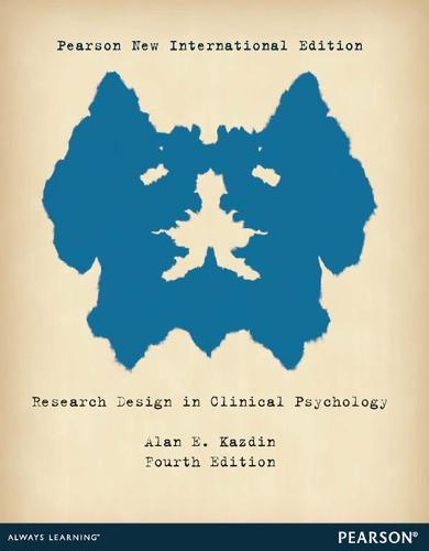 Research Design in Clinical Psychology: Pearson New International Edition (Paperback)