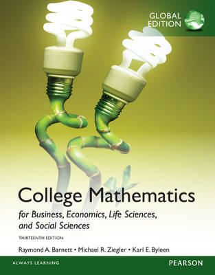 College Mathematics for Business, Economics, Life Sciences and Social Sciences, Global Edition (Paperback)