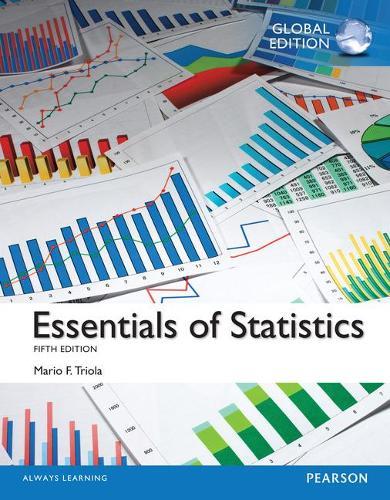 Essentials of Statistics, Global Edition (Paperback)