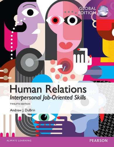 Human Relations: Interpersonal Job-Oriented Skills, Global Edition (Paperback)