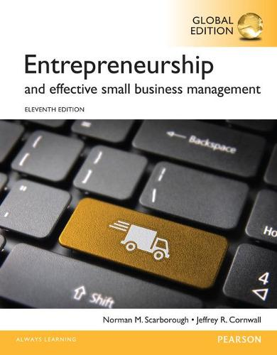 Entrepreneurship and Effective Small Business Management, Global Edition (Paperback)