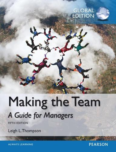 Making the Team, Global Edition (Paperback)