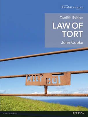 Law of Tort 12th edition MyLawChamber pack - Foundation Studies in Law Series