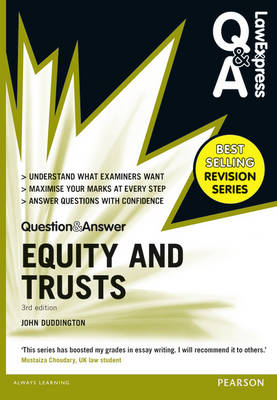 Law Express Question and Answer: Equity and Trusts(Q&A revision guide) - Law Express Questions & Answers (Paperback)