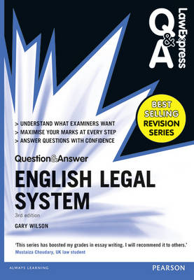 Law Express Question and Answer: English Legal System(Q&A revision guide) - Law Express Questions & Answers (Paperback)