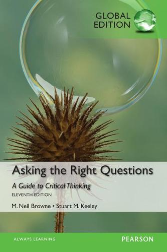 Asking the Right Questions, Global Edition (Paperback)