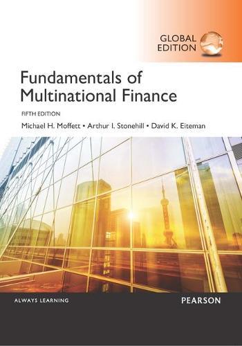 Fundamentals of Multinational Finance, Global Edition (Paperback)