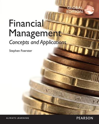 Financial Management: Concepts and Applications, Global Edition (Paperback)