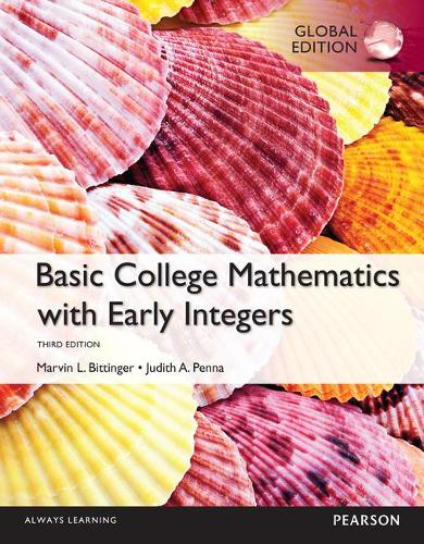 Basic College Maths with Early Integers, Global Edition (Paperback)