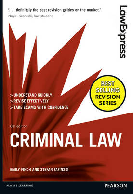 Law Express: Criminal Law - Law Express (Paperback)