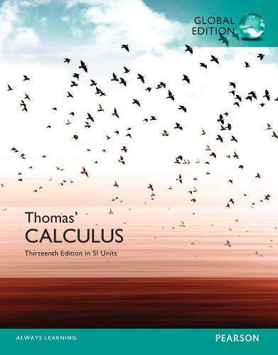 Thomas' Calculus in SI Units (Paperback)