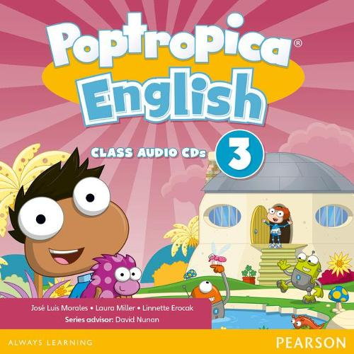 Poptropica English American Edition 3 Student Book - Poptropica (CD-Audio)