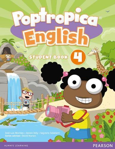 Poptropica English: Poptropica English American Edition 4 Student Book Student book 4 - Poptropica (Paperback)