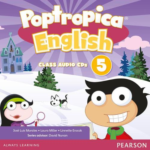 Poptropica English American Edition 5 Teacher's Edition & Online World Access Card Pack - Poptropica (CD-Audio)