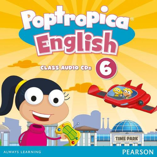 Poptropica English American Edition 6 Student Book - Poptropica (CD-Audio)