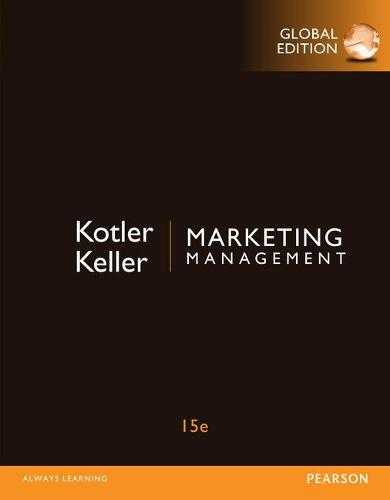 Marketing Management with MyMarketingLab, Global Edition