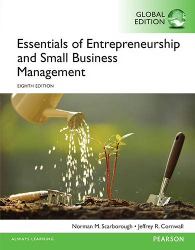 Essentials of Entrepreneurship and Small Business Management, Global Edition (Paperback)