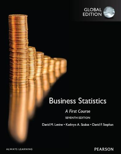 Business Statistics: A First Course, Global Edition (Paperback)