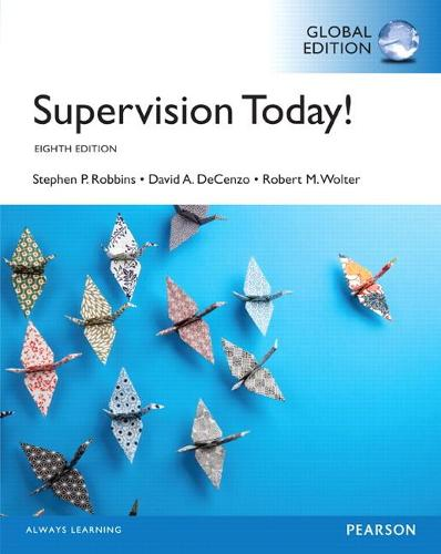 Supervision Today!, Global Edition (Paperback)