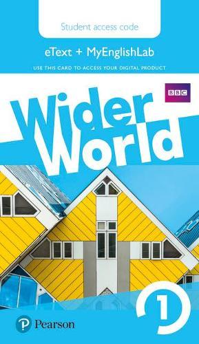 Wider World 1 MyEnglishLab & eBook Students' Access Card - Wider World (Digital product license key)