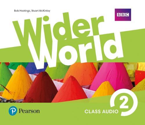 Wider World 2 Class Audio CDs - Wider World (CD-Audio)