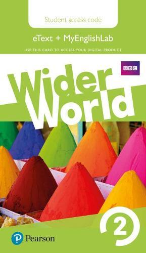 Wider World 2 MyEnglishLab & eBook Students' Access Card - Wider World (Digital product license key)