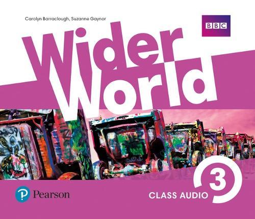 Wider World 3 Class Audio CDs - Wider World (CD-Audio)