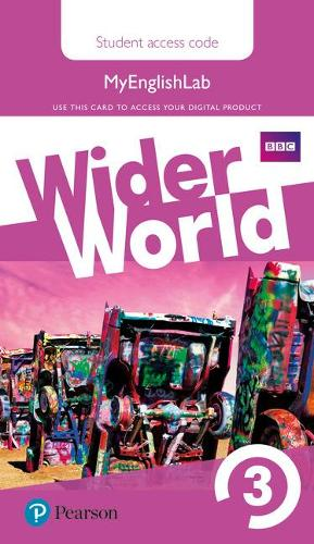 Wider World 3 MyEnglishLab Students' Access Card - Wider World (Digital product license key)