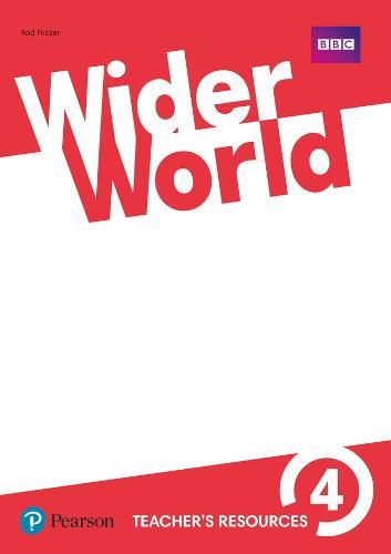 Wider World 4 Teacher's Resource Book - Wider World (Paperback)