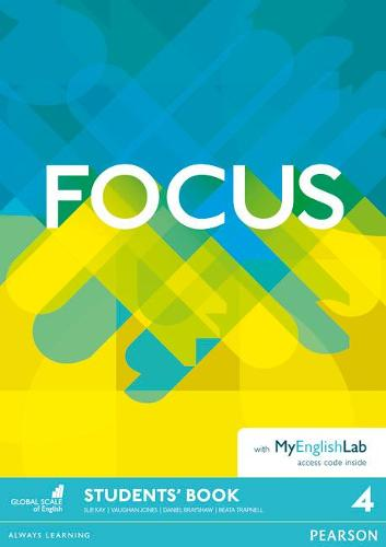 Focus BrE 4 Student's Book & MyEnglishLab Pack - Focus