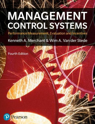 Management Control Systems 4th Edition (Paperback)