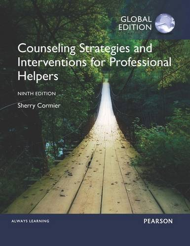 Counseling Strategies and Interventions for Professional Helpers with NewMyCounselingLab, Global Edition