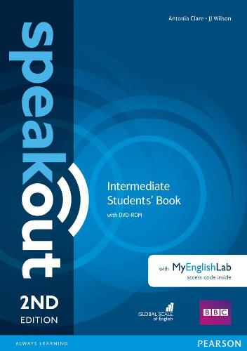Speakout Intermediate 2nd Edition Students' Book with DVD-ROM and MyEnglishLab Access Code Pack - speakout