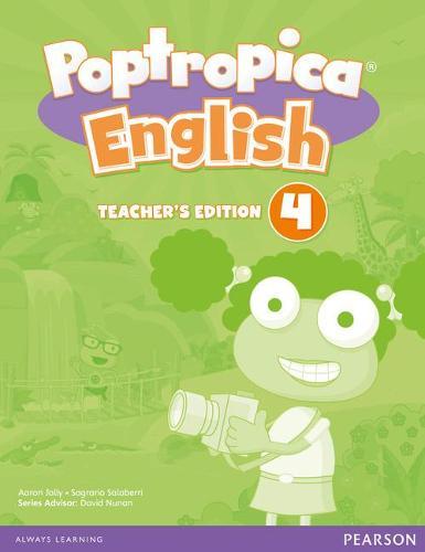 Poptropica English American Edition 4 Teacher's Edition - Poptropica (Paperback)