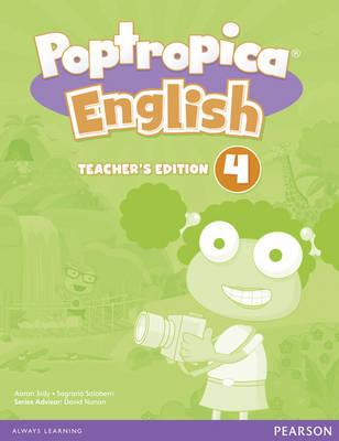 Poptropica English American Edition 4 Teacher's Edition - Poptropica