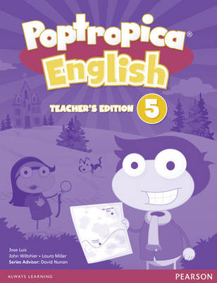 Poptropica English American Edition 5 Teacher's Edition & Online World Access Card Pack - Poptropica