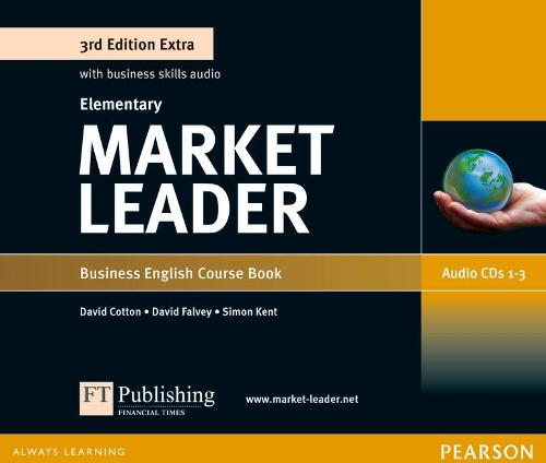 Market Leader 3rd Edition Extra Elementary Class Audio CD - Market Leader (CD-Audio)