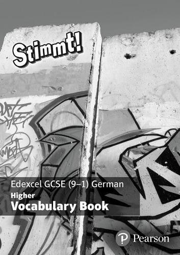Stimmt! Edexcel GCSE German Higher Vocab Book (pack of 8) - Stimmt! Edexcel GCSE German