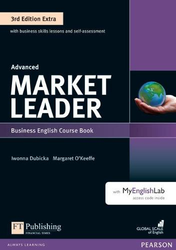 Market Leader 3rd Edition Extra Advanced Coursebook with DVD-ROM and MyEnglishLab Pack - Market Leader