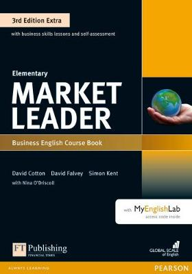Market Leader 3rd Edition Extra Elementary Coursebook with DVD-ROM and MyEnglishLab Pack - Market Leader