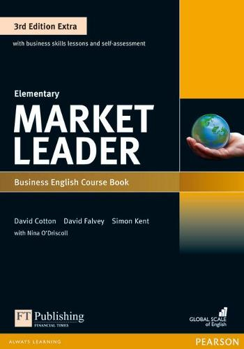 Market Leader 3rd Edition Extra Elementary Coursebook with DVD-ROM Pack - Market Leader