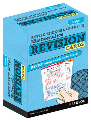 Revise Edexcel GCSE (9-1) Mathematics Higher Revision Flashcards - REVISE Edexcel GCSE Maths 2015