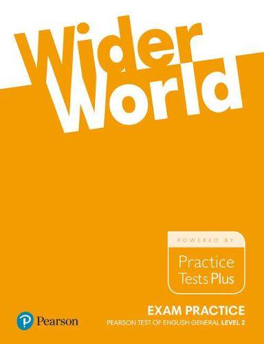 Wider World Exam Practice: Pearson Tests of English General Level 2(B1) - Wider World (Paperback)